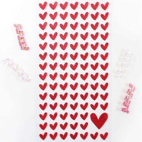 Red Heart Deco Sticker