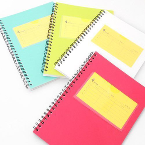 4 Subject Lined Notebook