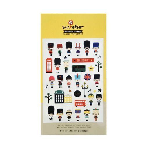 Toy Soldier Deco Sticker v2