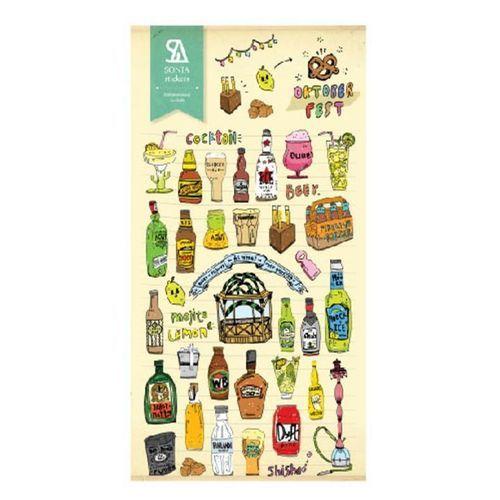 Oktoberfest Deco Sticker