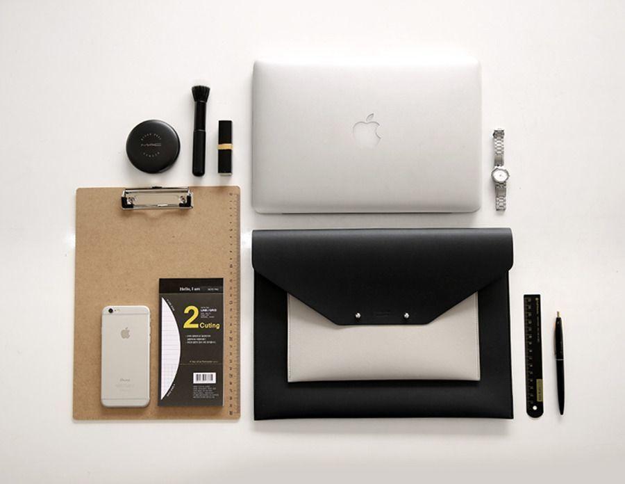 Hello 13in. Laptop Clutch