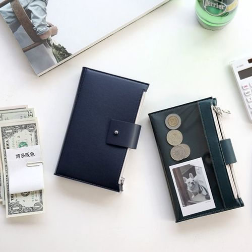 Double Zipper Wallet