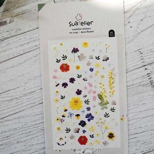 Flower Nail Deco Sticker