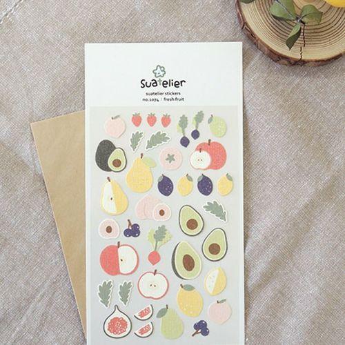 Fresh Fruit Deco Sticker