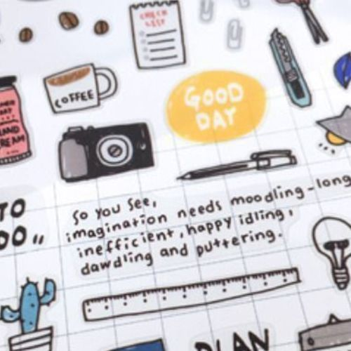 Daily Deco Sticker