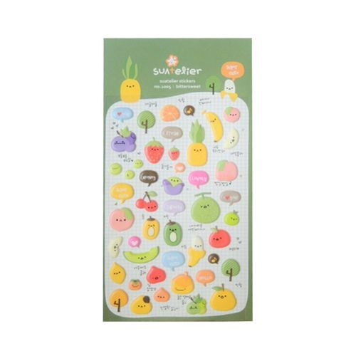 Fruit Emoji Deco Sticker