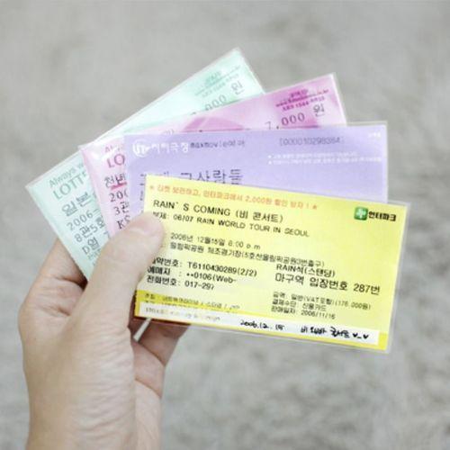 Ticket Pocket Set