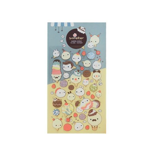 Ice Cream Deco Sticker v2