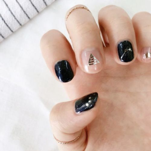 Shine Nail Deco Sticker