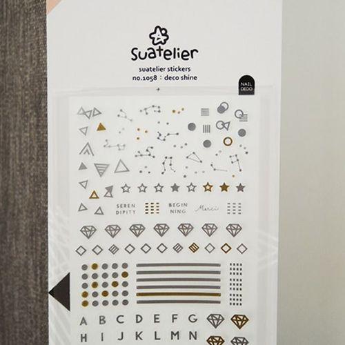 Shine Nail Deco Sticker