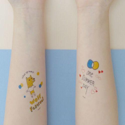 Delight Temporary Tattoo v2