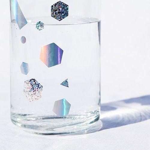 Shape Hologram Deco Sticker