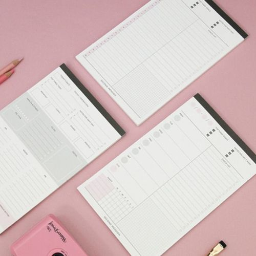 A5 Weekly Planning Notepad