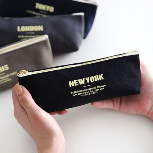 City Canvas Pen Pouch