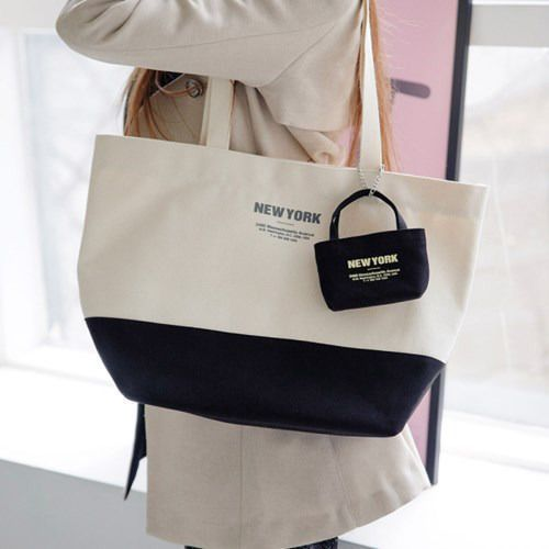 Large City Canvas Shoulder Bag