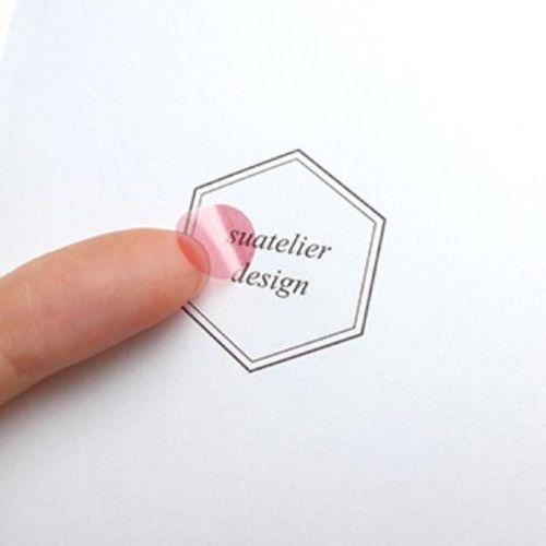 Plain Deco Sticker v1