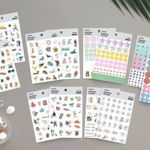 Iconic Themed Deco Sticker Set