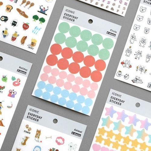 Iconic Themed Deco Sticker Set