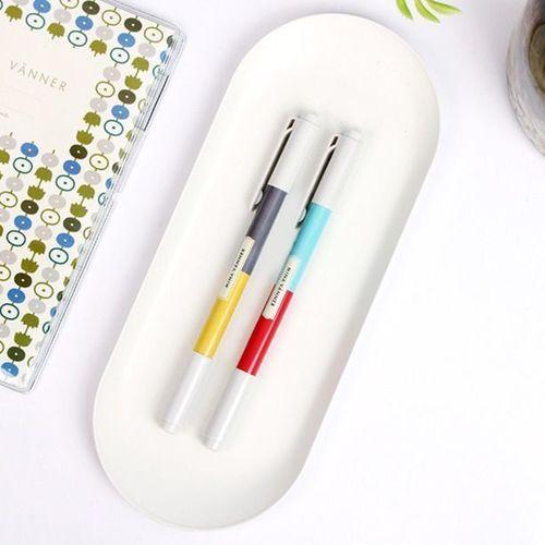 Simple Steel Pen Tray