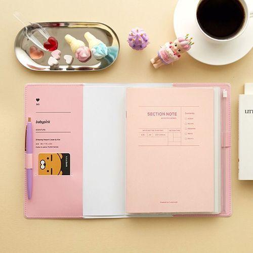 MYO Pastel A5 Binder Organizer