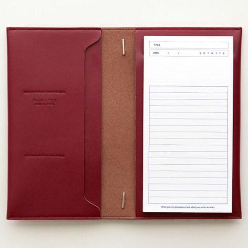 MYO Slim Notepad & Planner Organizer