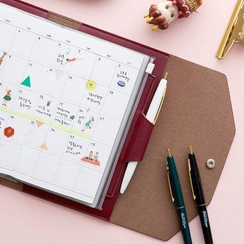 MYO Slim Button Planner Organizer