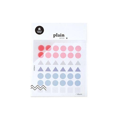 Plain Deco Sticker v2