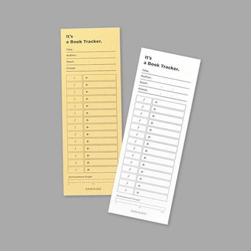 Book Tracking Sheets