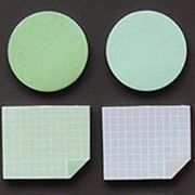 Mini Shape Sticky Note Set, Green