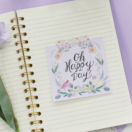 Willow Pattern Notepad