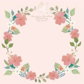 Willow Pattern Notepad, Pink