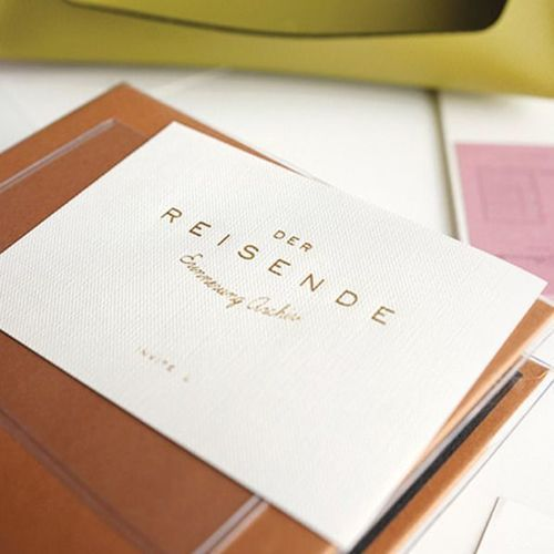 Der Reisende 6 Ring Binder