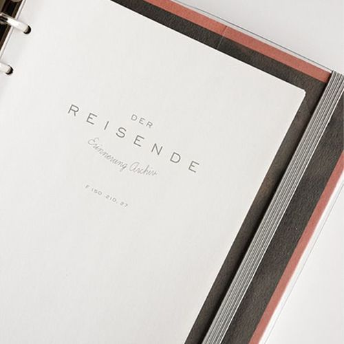 Der Reisende 6 Ring Binder Planner Refill