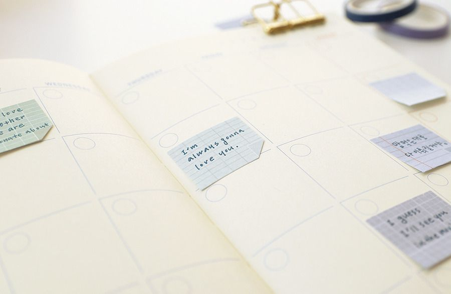 Mini Note Sticky Note Set