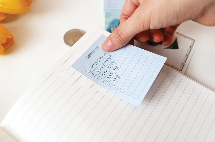 Mini Plan Sticky Note