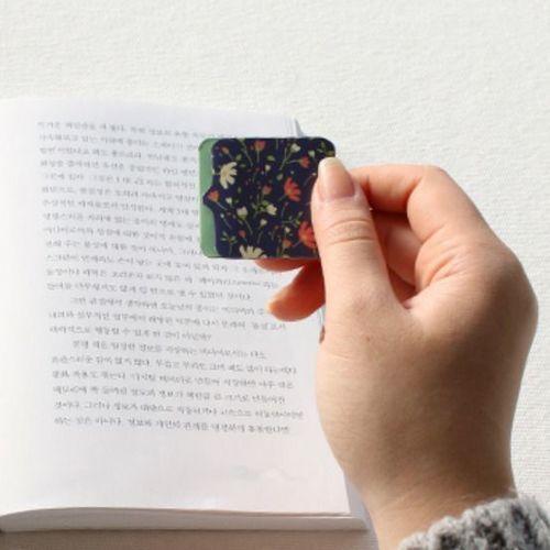 Floral Magnetic Bookmark