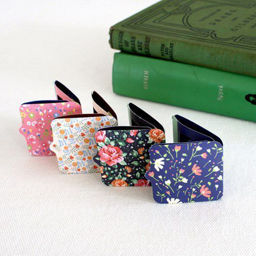 Floral Magnetic Bookmark