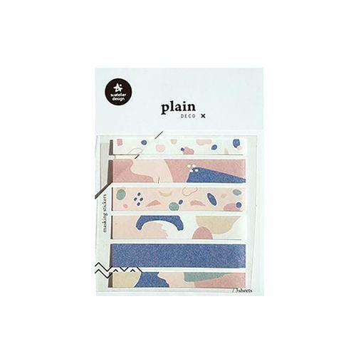 Plain Deco Sticker v16