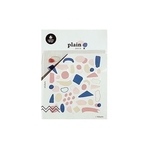 Plain Deco Sticker v18