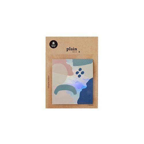 Plain Deco Sticker v19