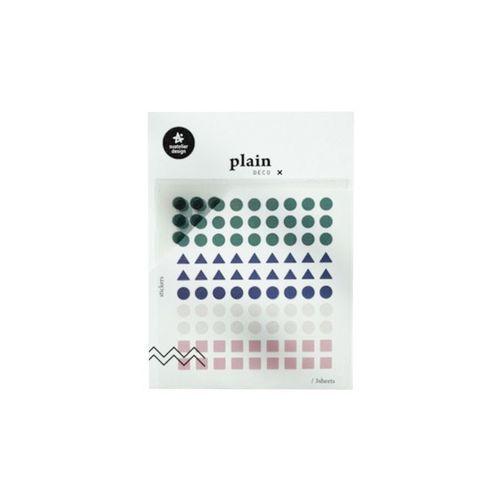 Plain Deco Sticker v21