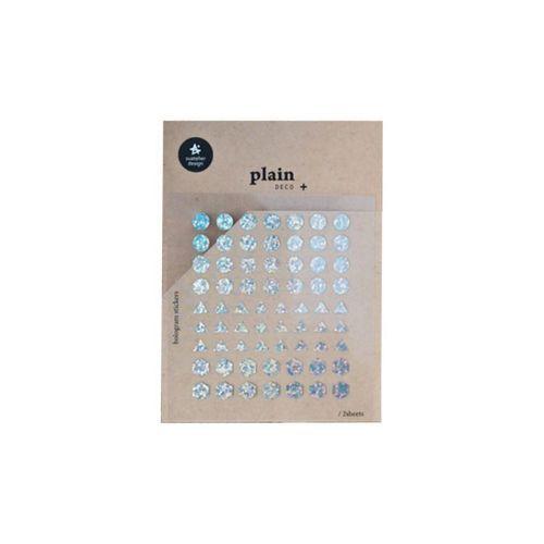 Plain Deco Sticker v24