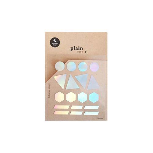 Plain Deco Sticker v25