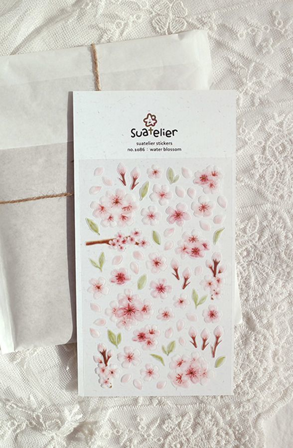 Water Blossom Deco Sticker