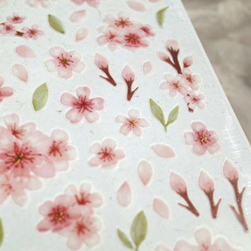 Water Blossom Deco Sticker