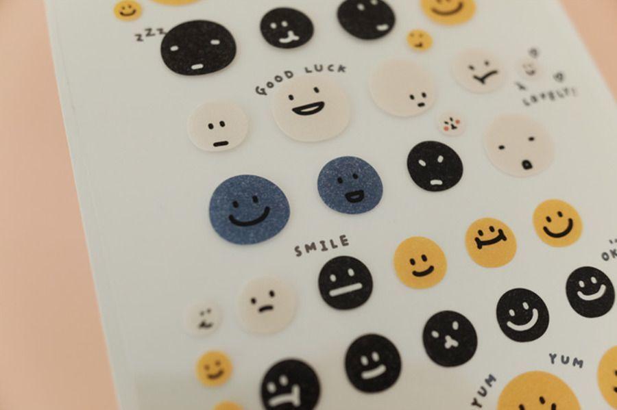 Huhu Emoji Deco Sticker