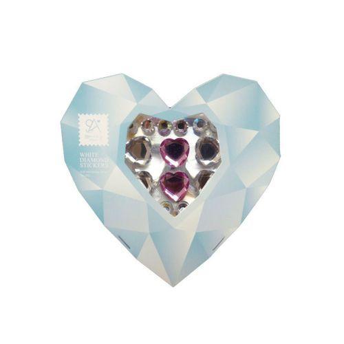 White Diamond Sticker Set