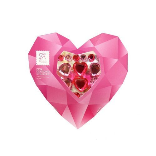 Pink Diamond Sticker Set