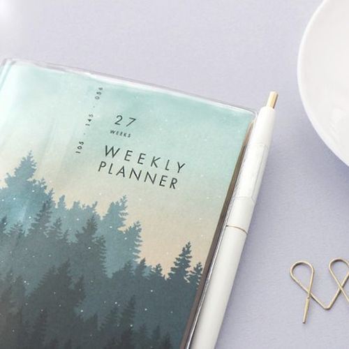 Pattern A6 Weekly Planner v3