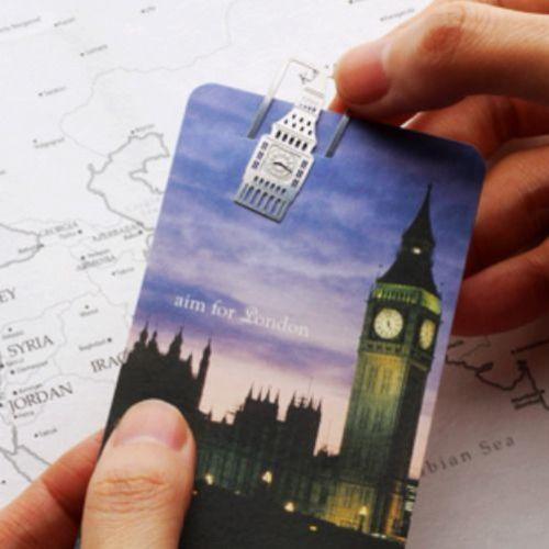 Europe Travel Bookmark